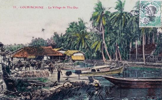 Năm 1832, vua Minh Mạng cho lập huyện Ngãi An thuộc tỉnh Biên Hòa. Đến năm 1866 nhập vào khu thanh tra Sài Gòn, trở thành huyện Thủ Đức tỉnh Gia Định năm 1899. Năm 1976, Sài Gòn chính thức đổi tên từ thành phố Sài Gòn - Gia Định thành Thành phố Hồ Chí Minh và huyện Thủ Đức trở thành trực thuộc.