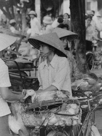 Góc chợ HN xưa