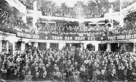 013.Quang cảnh kỳ họp thứ nhất Quốc hội khóa I, ngày 2-3-1946.
