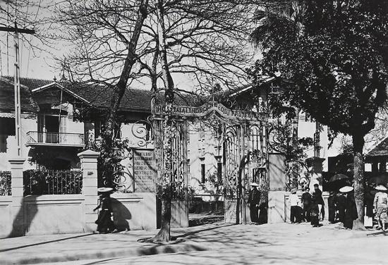 014.Hanoï. Hôpital indigène (du Protectorat) 1921-35 (Bệnh viện Bảo hộ của dân bản xứ)