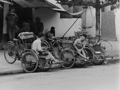 Những bức ảnh xích lô về Hà Nội thời bao cấp