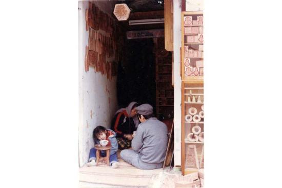 Bữa cơm của một gia đình ở phố Hàng Quạt