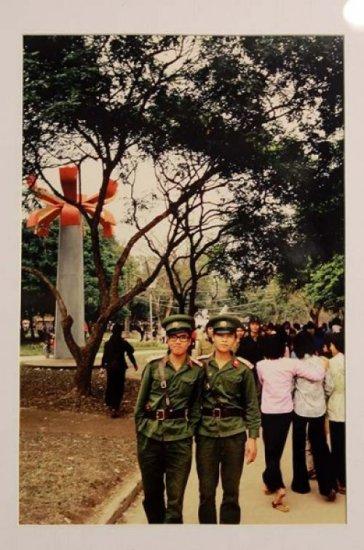 Công viên Lê Nin, Hà Nội năm 1982.