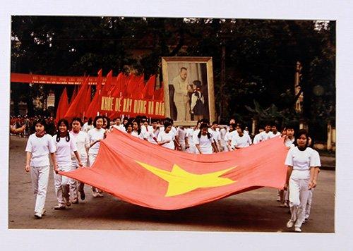 Diễn tập (Hà Nội) năm 1982.