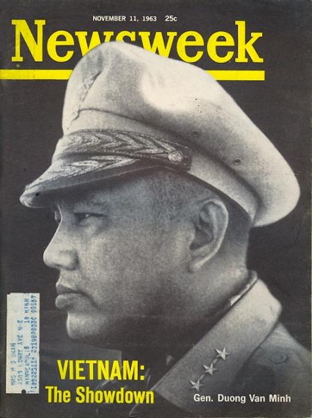 1963 Newsweek Magazine - Gen Duong Van Minh - Vietnam