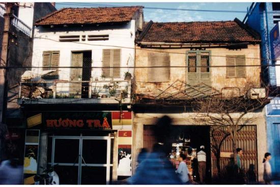 Nhà cũ ở phố Bạch Mai.