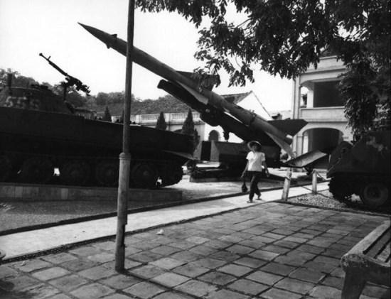 Bảo tàng quân đội ở Hà Nội.