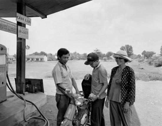 Một trạm xăng ở Xuân Lộc, Đồng Nai.