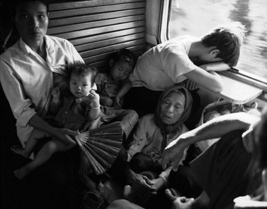 Trên một chuyến tàu Bắc - Nam.