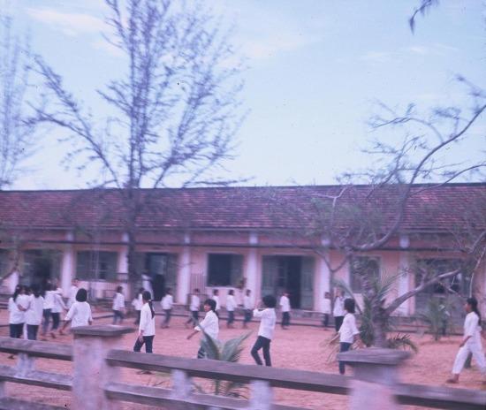 Một trường trung học ở Đà Nẵng.