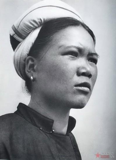 Một góa phụ trẻ ở miền Bắc Việt Nam.