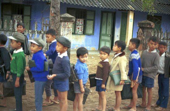 Trẻ em tại một trường tiểu học ở Đà Nẵng.