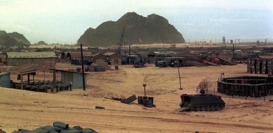 Căn cứ quân sự Mỹ ở khu vực Ngũ Hành Sơn.