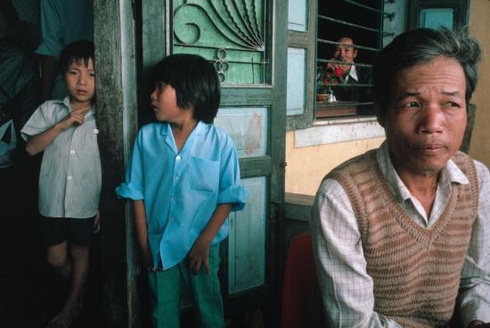 Một gia đình ở Hà Nội.