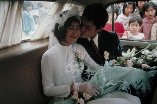 Hạnh phúc trong ngày cưới ở Hà Nội.