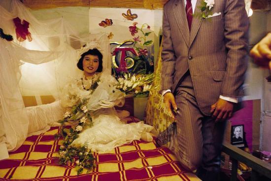 Phòng cưới của cô dâu chú rể.