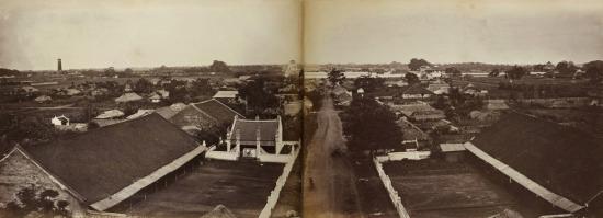Toàn cảnh thành Hà Nội .