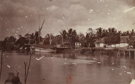 Sông nước Vĩnh Long.