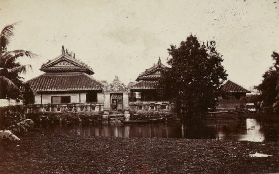 Chùa của người Hoa ở Chợ Lớn.