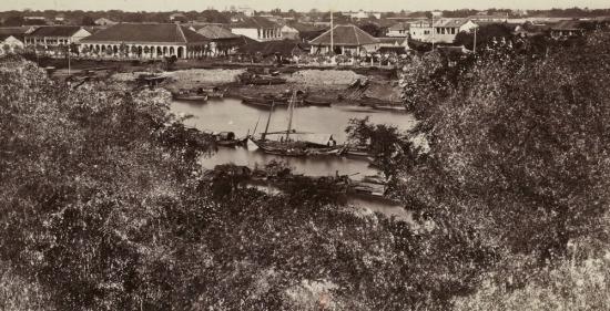 Một góc khác của cảng Sài Gòn.