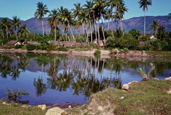 Một hồ nước ở Gia Lai.
