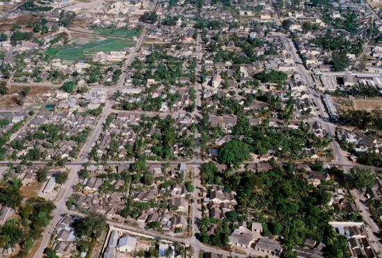 Khu vực trung tâm thị xã Kontum.