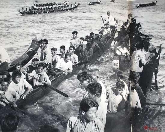 Lễ hội đua thuyền.