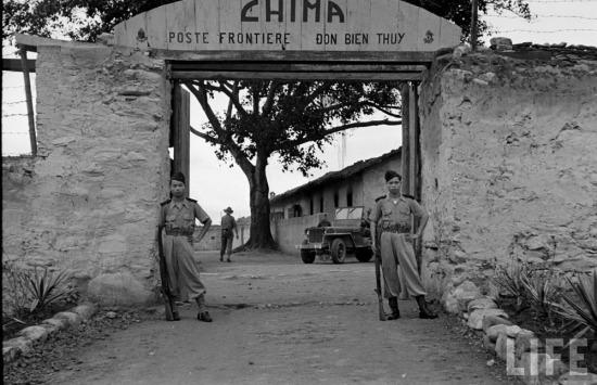 Đồn biên phòng Chi Ma (huyện Lộc Bình, Lạng Sơn) sát biên giới với Trung Quố