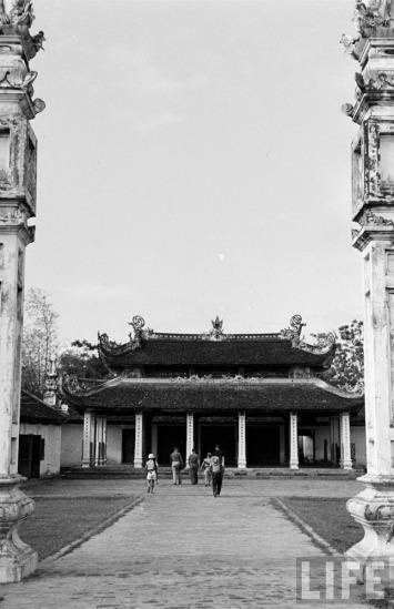 Một ngôi chùa ở Lạng Sơn.