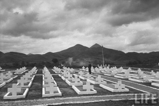 Nghĩa trang lính Pháp ở Lạng Sơn.