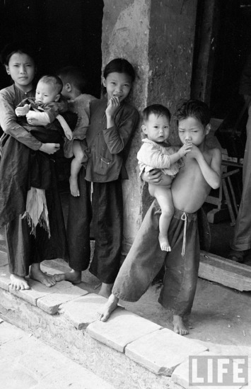 Trẻ em nông thôn Lạng Sơn.