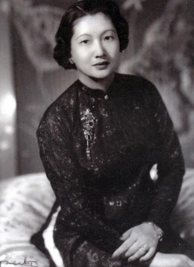 Chân dung Hoàng hậu Nam Phương trước năm 1945.