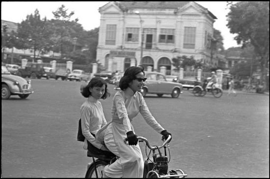 Đường phố Sài Gòn ngày 29/101965.