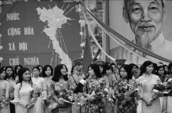 Lễ kỷ niệm ngày Thống nhất đất nước tại TP HCM.