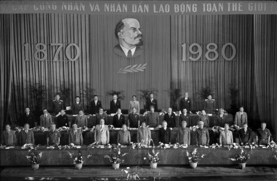 Buổi lễ kỷ niệm 110 năm ngày sinh lãnh tụ cách mạng V. I. Lenin.