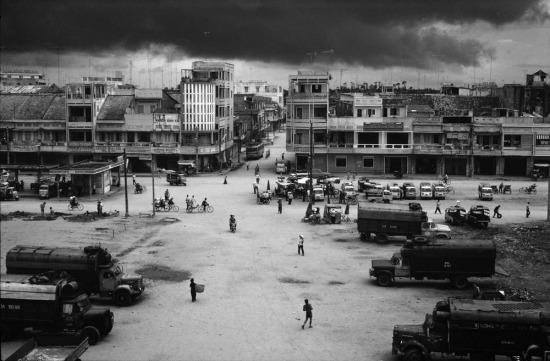 Thị trấn Xuân Lộc, nơi 5 năm trước đã diễn ra trận đánh lớn cuối cùng của cuộc chiến tranh Việt Nam, trước khi quân đội Giải phóng tiến về Sài Gòn và thống nhất đất nước.