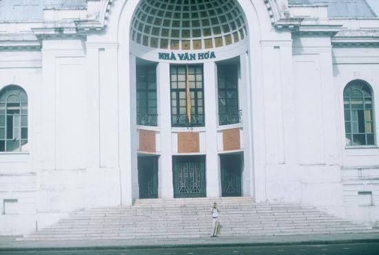 Vào thời điểm năm 1965, công trình này được gọi là Nhà văn hóa.