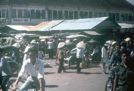 Khu vực chợ Bà Chiểu.