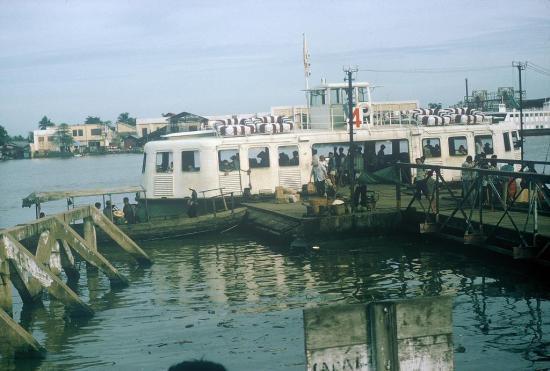 Một góc cảng Sài Gòn.