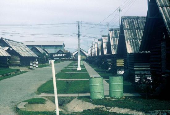 Căn cứ quân sự Trại Davis của Mỹ ở Tây Nam Tân Sơn Nhất.