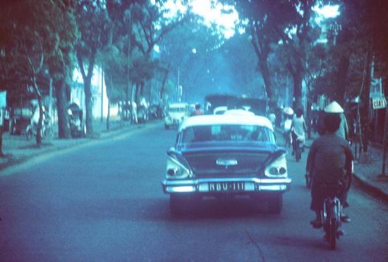 Đường phố Sài Gòn.