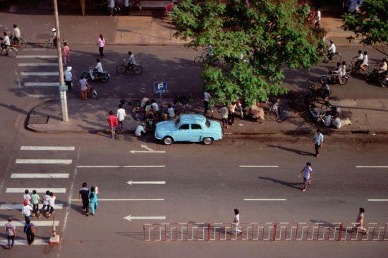 Một góc đường Lê Lợi.