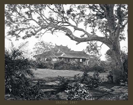Lăng Cha Cả ở Sài Gòn.