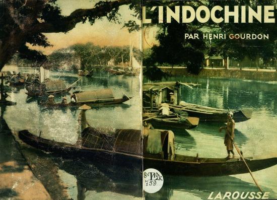 """Bìa cuốn sách ảnh """"L'Indochine"""" (Đông Dương) của nhiếp ảnh gia Pháp Henri Gourdon, xuất bản tại Pháp năm 1931"""