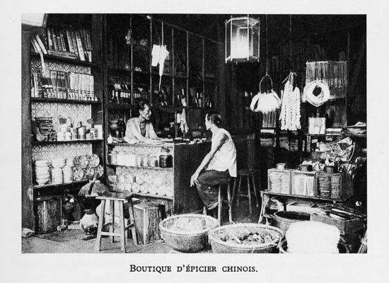 Tiệm tạp hóa của người Hoa.