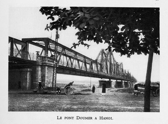 Cầu Doumer (Long Biên), Hà Nội.