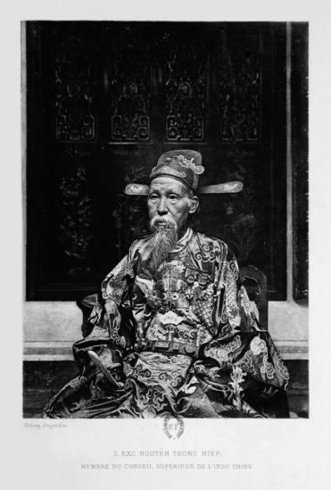 Quan đại thần Nguyễn Trọng Hợp (1834 - 1902), là quan nhà Nguyễn trải qua bảy triều vua từ Tự Đức đến Thành Thái, đại thần nhà Nguyễn chủ chốt trong việc nghị hòa với người Pháp.