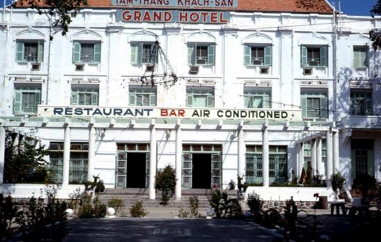 Khách sạn Grand, nơi nhiều sĩ quan Mỹ cư ngụ tại Vũng Tàu.