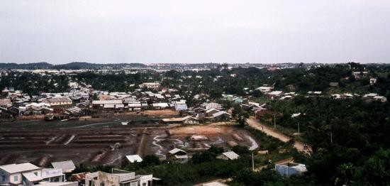 Một góc thành phố Vũng Tàu nhìn từ Thích Ca Phật Đài.
