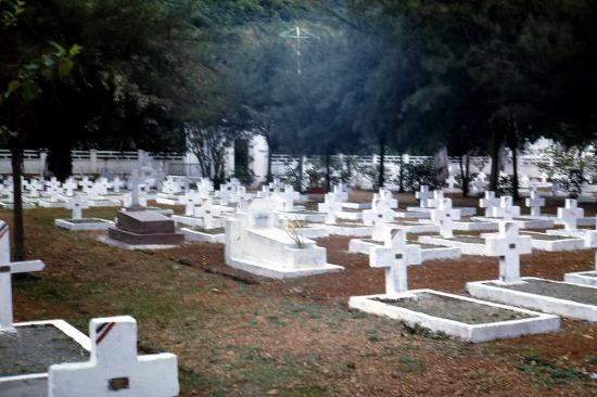 Nghĩa trang của người Pháp.